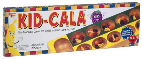 Kid-Cala, Rules for different Mancala games By University Games Ship from US by