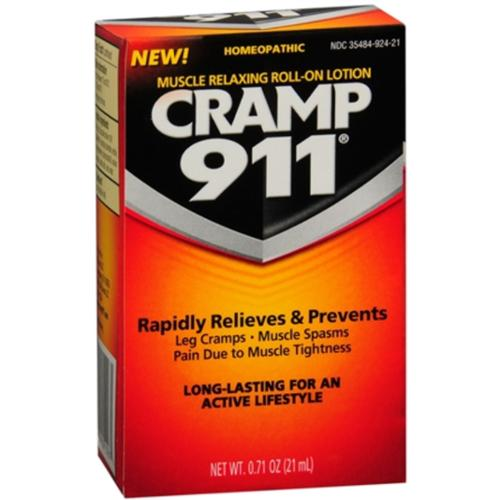 Cramp 911 Muscle Relaxing Roll-On Lotion 21 mL (Pack of 2)