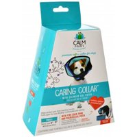 Large - 3 count (3 x 1 ct) Calm Paws Caring Collar with Calming Gel Patch for Dogs