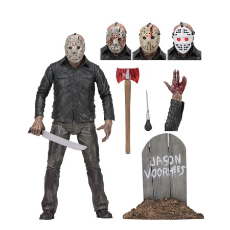 "Friday the 13th - 7"" Scale Action Figure - Ultimate Part 5 Jason"