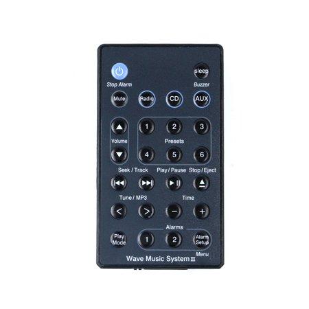 New Replace Remote fit for B-O-S-E AWRC-C1 AWRC-C2 AWRC-C3 Wave Radio/CD Music System (Bose Music Wave)