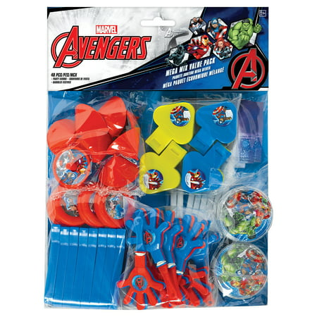 Avengers Party Ideas (Epic Avengers Mega Mix Value (48)