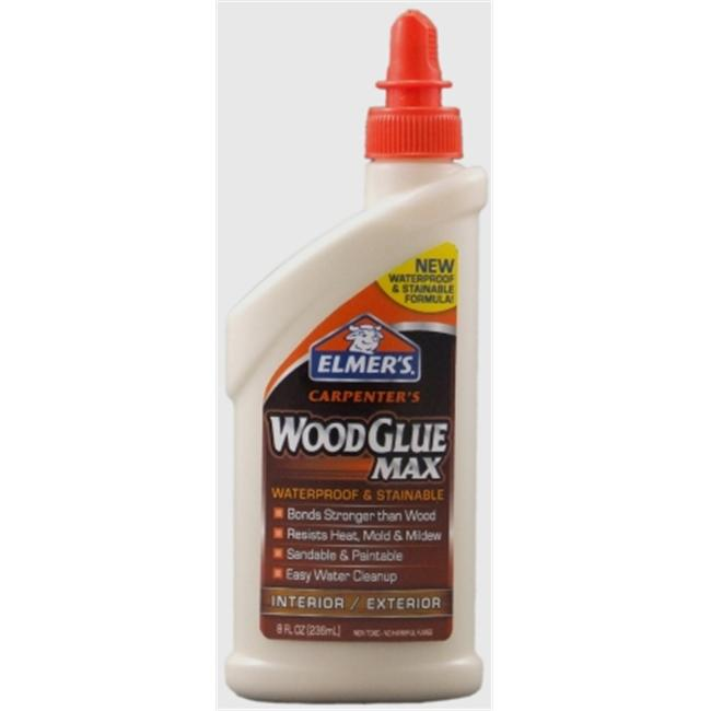 Elmers-xacto 8 Oz Carpenters Wood Glue Max  E7300