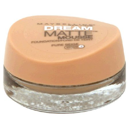 Maybelline Dream Matte Mousse Foundation, Pure Beige, 0.64 fl.