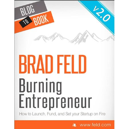 Brad Buddy Set (Brad Feld's Burning Entrepreneur - How to Launch, Fund, and Set Your Start-Up On Fire - eBook)