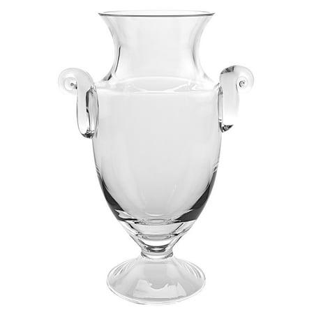 Playroom Trophies ((D) Centerpiece 'Champion' Trophy Crystal Flower Vase 12