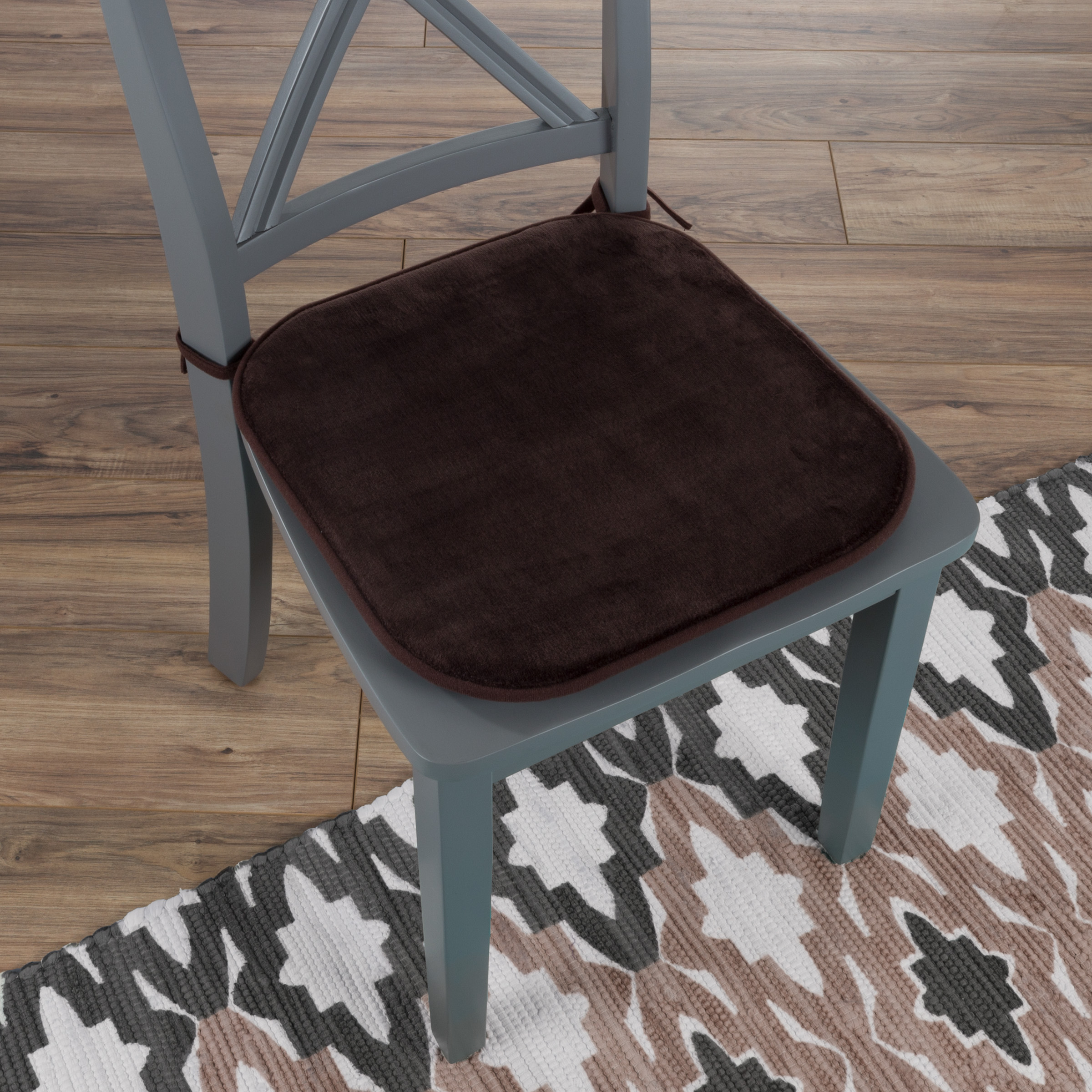 Memory Foam Chair Cushion Square, Memory Foam For Dining Room Chairs