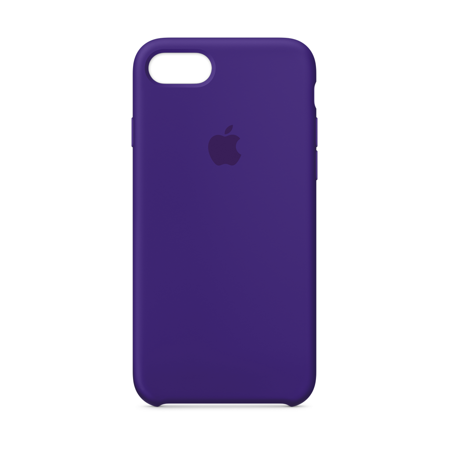 new product c9ffc b78a5 Apple Silicone Case for iPhone 8 & iPhone 7 - Blue Cobalt