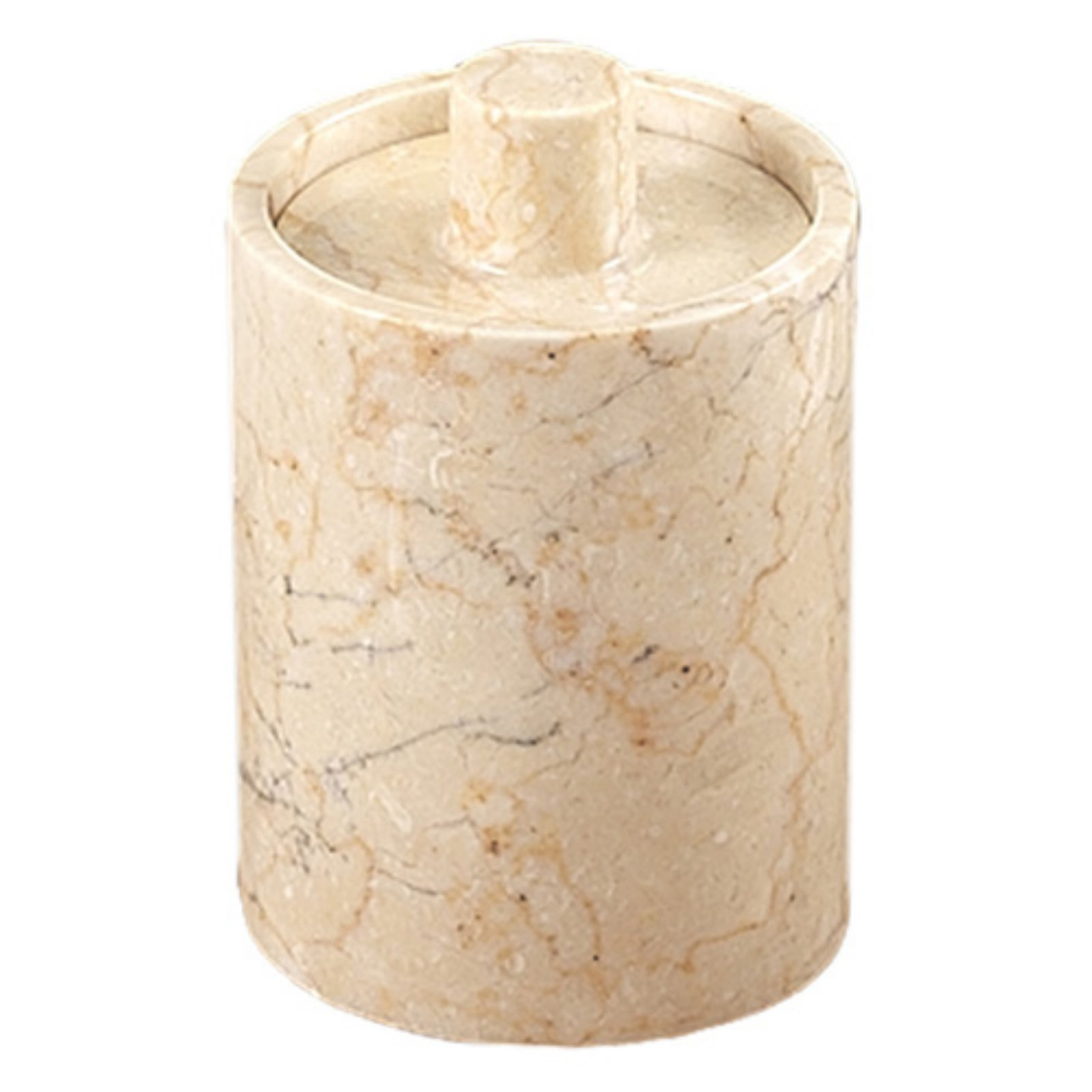 Creative Home Marble Inverary Cotton Ball Holder