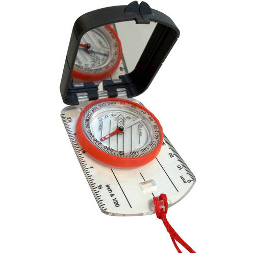 Alpine Mountain Gear Map Compass with Mirror by Alpine Mountain Gear