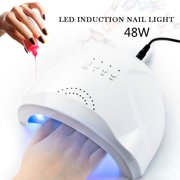 48W UV/LED Lamp Nail Dryer Timing Manicure Tool Beauty Nail Gel Lamp Curing For Nails EU Plug