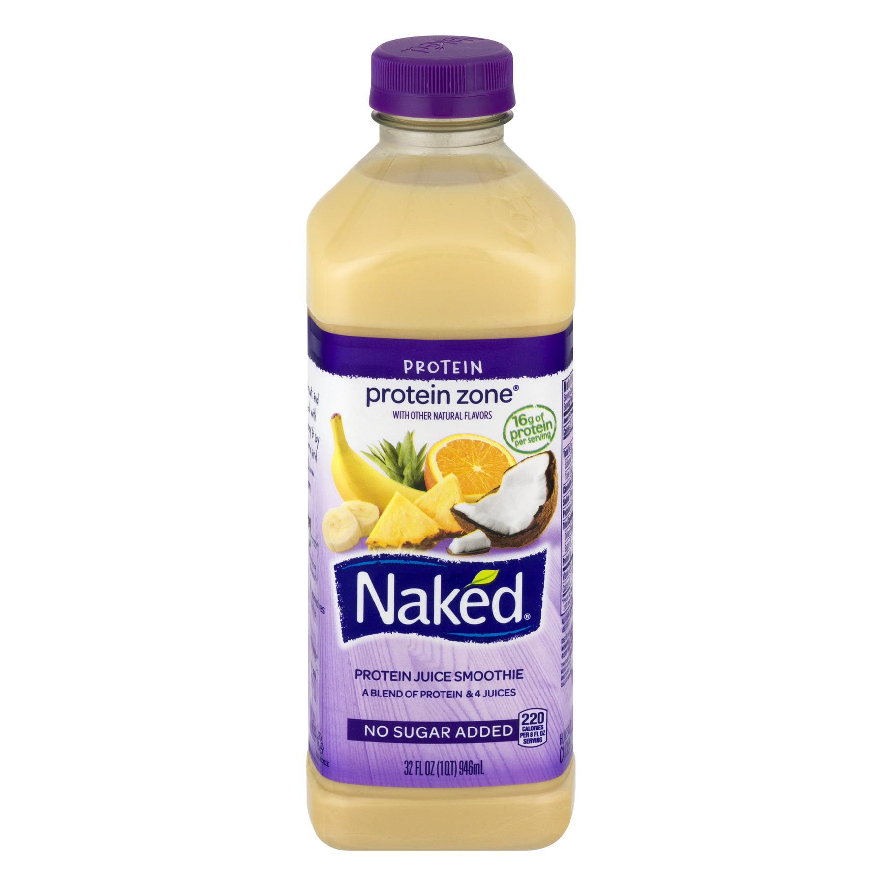 Naked Protein Zone Protein Juice Smoothie 15.2 oz Reviews 2021