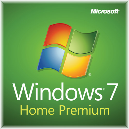 Microsoft Windows 7 Home Premium w/SP1 64-bit-System Builder License and Media - 1 PC, GFC-020250