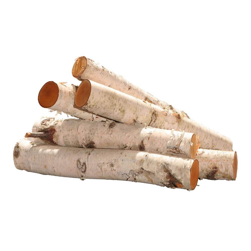"Vickerman 16"" Birch Log Bundle-6pc/set Everyday Tree"