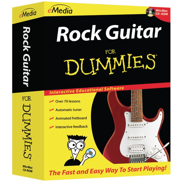eMedia Music FD06101 Rock Guitar For Dummies(R) CD-ROM