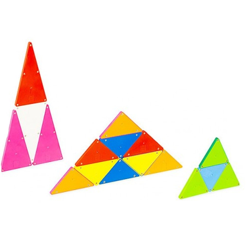 Magna-Tiles 100-Piece Solid Colors Set – The Original, Award-Winning Magnetic Building Tiles – Creativity and Educational – STEM Approved