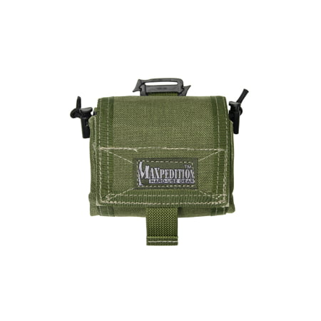 Maxpedition Mega Rollypoly Folding Dump Pouch Green