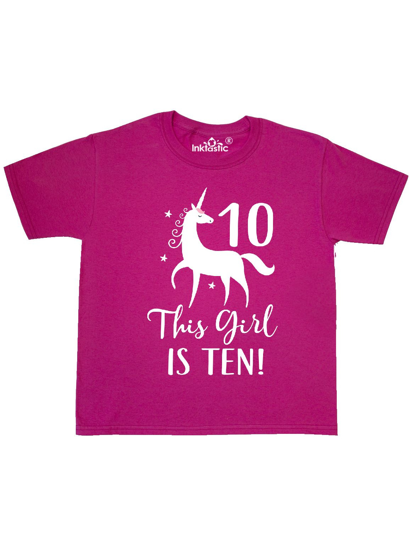 10th Birthday Unicorn Youth T-Shirt