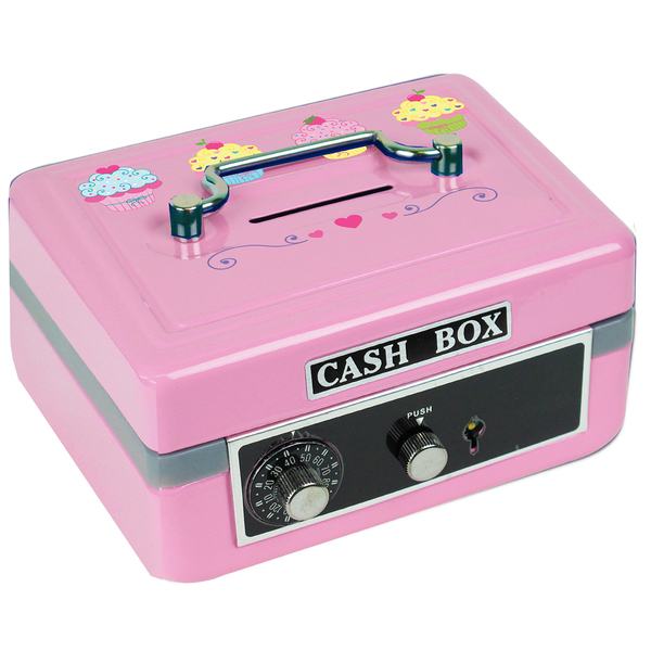 Personalized Cupcake Cash Box