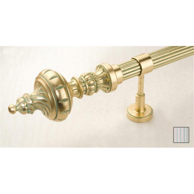 WinarT USA 8. 1098. 45. 33. 320 Palas 1098 Curtain Rod Set - 1. 75 inch - 126 inch