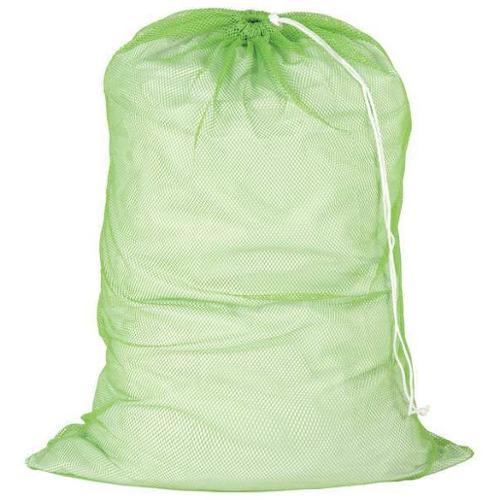 HONEY-CAN-DO LBG-01163 Laundry Bag, Green, Mesh