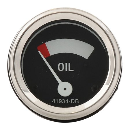 Complete Tractor Oil Pressure Gauge 1707-0523 for Case International Harvester A, AV, B, BN, F12, F14, F20, F30, H, HV, I12, I14, I4, I6, I9, M, MV, O12, O4, O6, -
