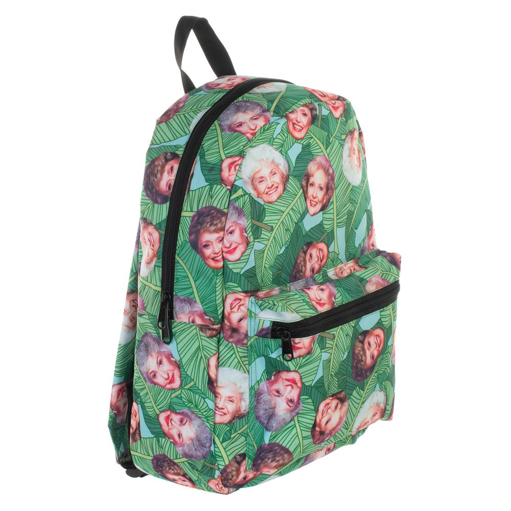 4ec9799687d0 Golden Girls Characters Sublimated Print Backpack