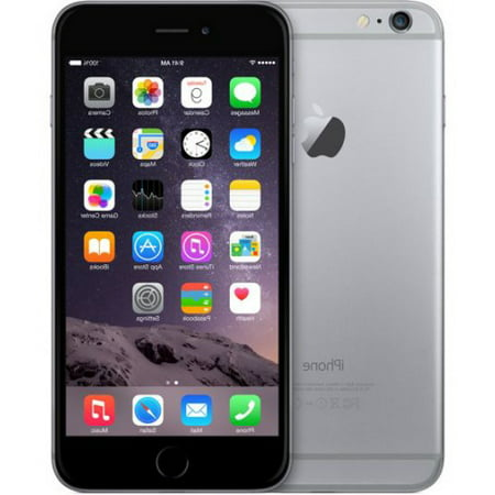 Apple iPhone 6S 32gb Space Gray - Fully Unlocked (Certified Refurbished, Good Condition) ()