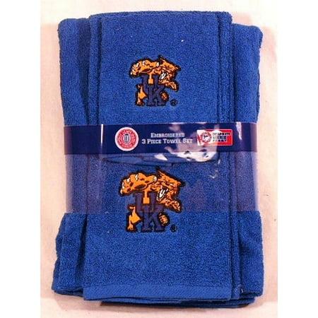 NCAA Kentucky 3-Piece Towel Set