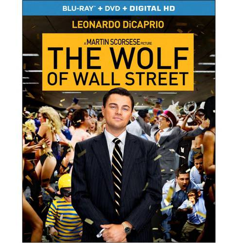 The Wolf Of Wall Street (Blu-ray + DVD + Digital HD) (Walmart Exclusive) (With INSTAWATCH) (Widescreen)