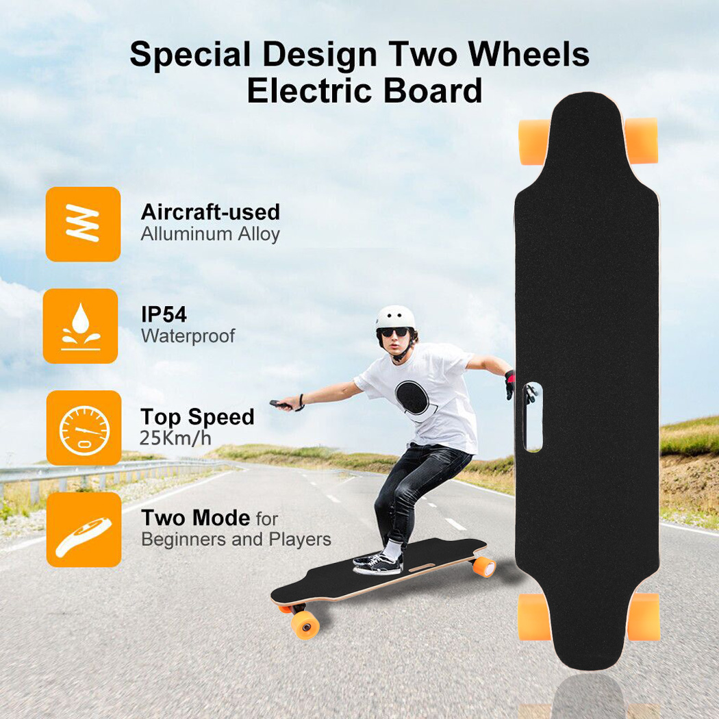 35inch Electric Skateboard Longboard Bluetooth with Remote Controller & Maple Deck electric hoverboad BTC by