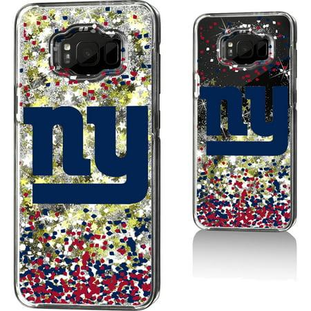 New York Giants Galaxy Glitter Case with Confetti Design