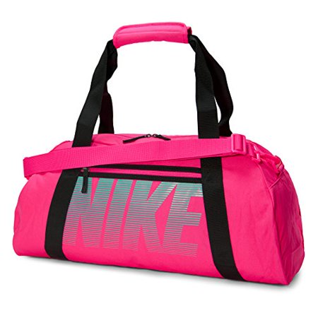 nike gym club hyper pink black hyper turquoise duffel bags. Black Bedroom Furniture Sets. Home Design Ideas