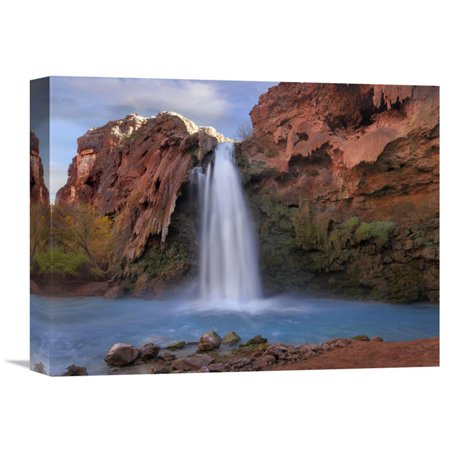 Global Gallery Havasu Falls Grand Canyon Arizona Horizontal Canvas Wall - Grand Gallery Presents