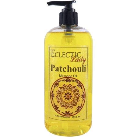 Patchouli Massage Oil, 16 oz ()
