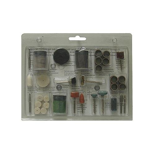 Grip 86450 Rotary Tool Accessory Engraving and Grinding Kit 105-Piece