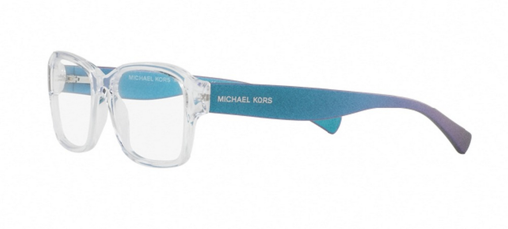 eef15f4bd490d Michael Kors Women s MK4036 3206 52 Rectangle Plastic Clear Clear Eyeglasses  - Walmart.com