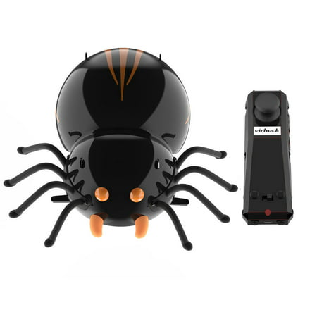 DIY F10 Spider RC Cars Intelligent Remote Insect Robot Kits Radio Control Cartoon Toys Remote Truck Toys Best Gift for Kids With 2.4Ghz Remote Control Electronic Car with Battery](Remote Control Robots For Kids)