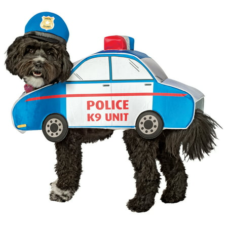 Bad Boys Bad Boys What Ya Gonna Do K-9 Unit Dog Police Dog Costume - Big Bad Wolf Halloween Costume For Dogs