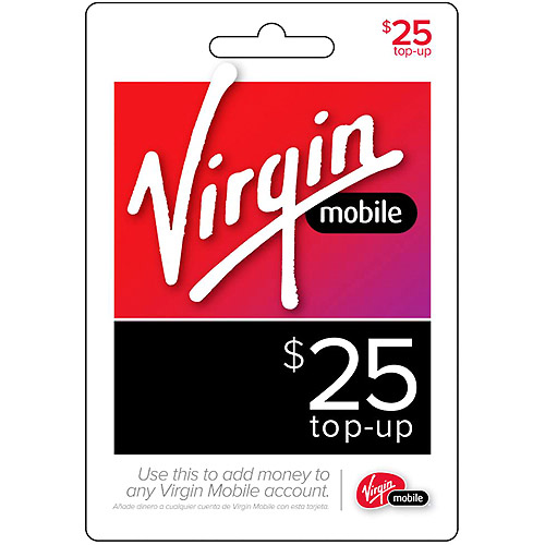 (Email Delivery) Virgin Mobile $25 Topup