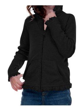 69579f5558bd Little Girls Sweatshirts   Hoodies - Walmart.com