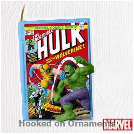 Hallmark Ornament 2010 Comic Book Heroes #3 - Incredible Hulk - Avengers Ornaments
