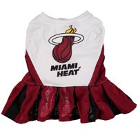 Miami Heat Dog Cheerleader Outfit