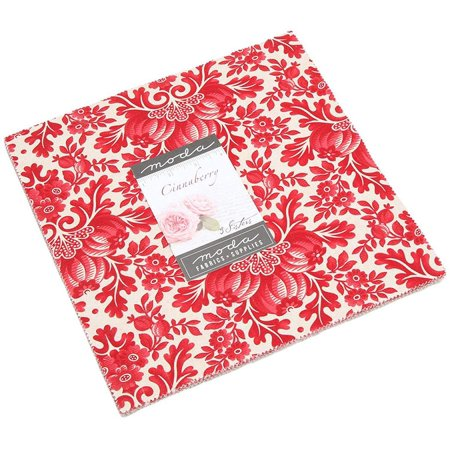 Cinnaberry Layer Cake by 3 Sisters; 42 10 inch Squares - MODA 3 Sisters Moda