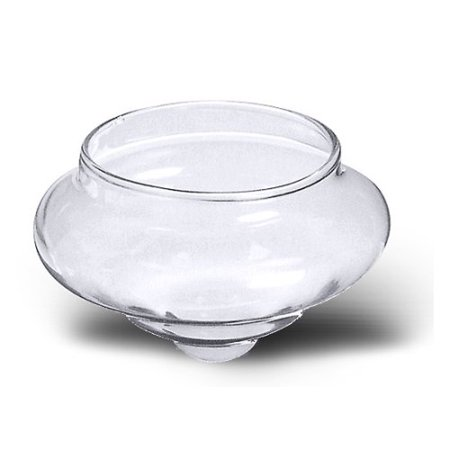 National Artcraft Floating Glass Candle Holder For Center Pieces, Ponds, Pools, Weddings, Celebrations And Mood Lighting ()