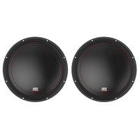 "(2) MTX 3510-02 10"" 1000 Watt Peak SVC 2-ohm Car Audio Subwoofers Subs"