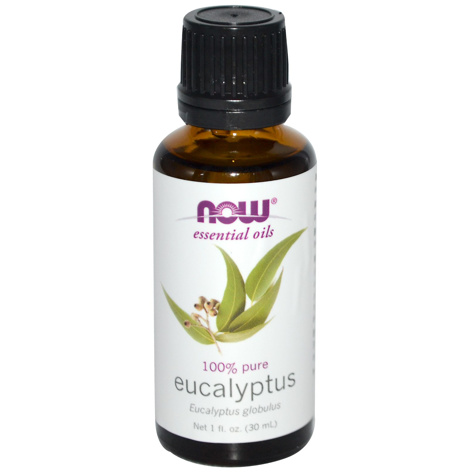 Now Foods, Essential Oils, Eucalyptus, 1 fl oz (30 ml), 2 Pack
