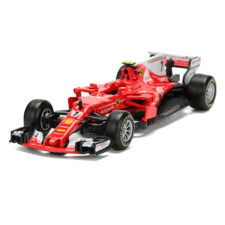 2017 Ferrari Racing Formula 1 F1 SF70H #7 Kimi Raikkonen 1/43 Diecast Model by Bburago 36805 - Ferrari F1 Engine