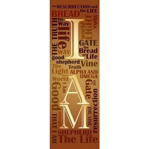 Banner-I AM (2' x 6') (Indoor)