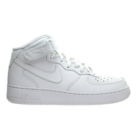 Nike - Nike Air Force 1 Mid  07 LE Women s Shoes White White 366731 ... 5fcc569849